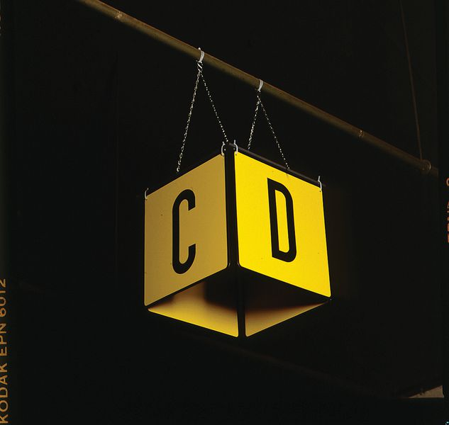 Marquage entrepôt Le cube (4 panneaux) (photo)