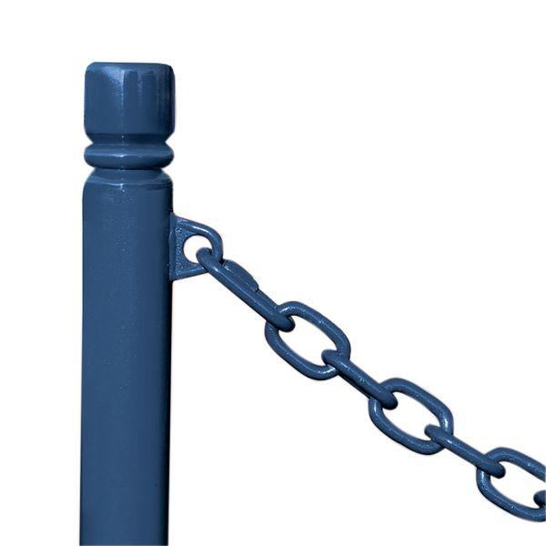 Poteaux fixes à chaînes (photo)