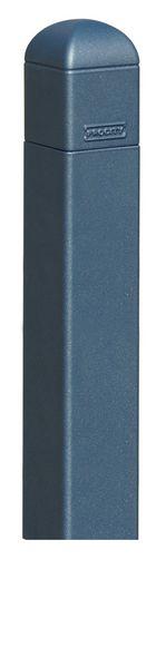 Potelet classique 70 x 70 mm finition ou sablée