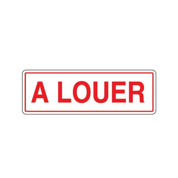 Panneau en polypropylène alvéolaire A louer (photo)