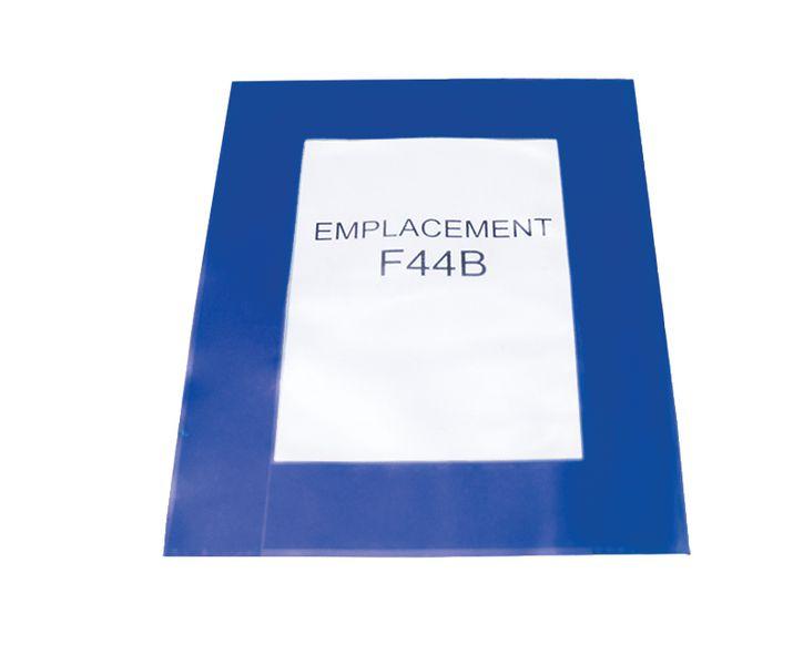 Protège-affiches en PVC auto-adhésifs (photo)