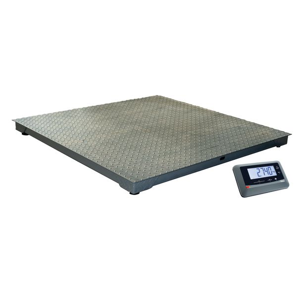 Plateforme de pesage industrielle en acier