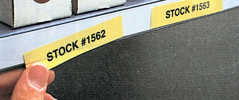 Porte-étiquettes adhésifs en bande