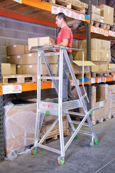 Plateforme de travail Alu repliable 150 kg