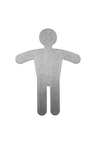 Pictogramme Symbole Inox Homme