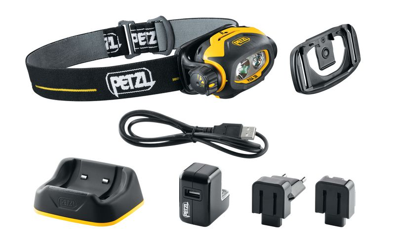 Lampe frontale Pixa® 3 rechargeable pour zones ATEX 2 (photo)