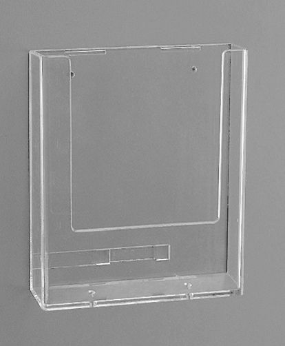 Présentoirs Muraux en polystyrène cristal