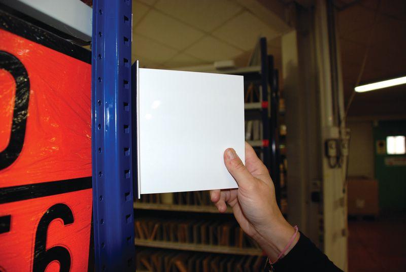 Marquage PVC double face magnétique (photo)