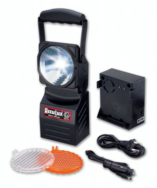 Projecteur portatif rechargeable Atex (photo)