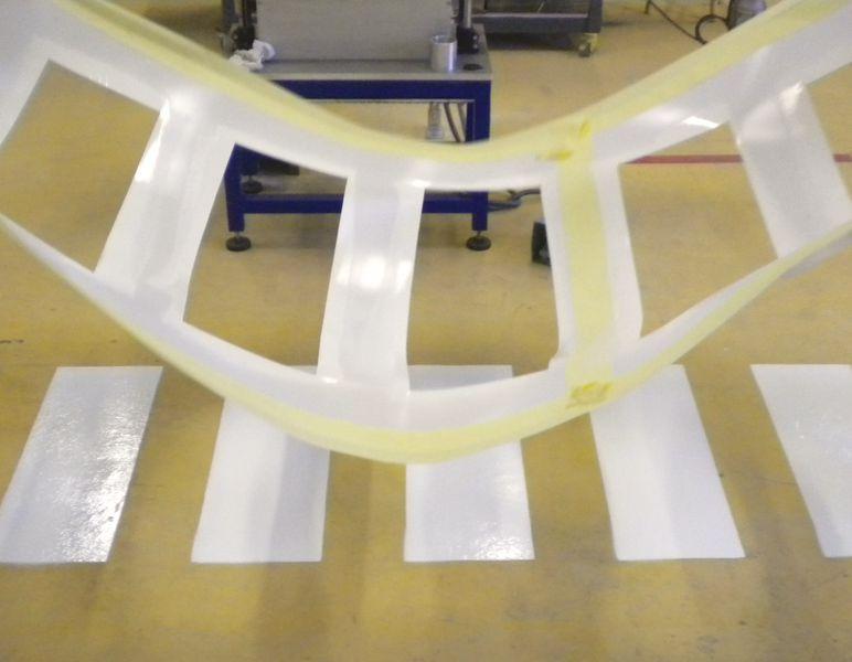 Pochoirs bandes inclinées à 45° et parallèles