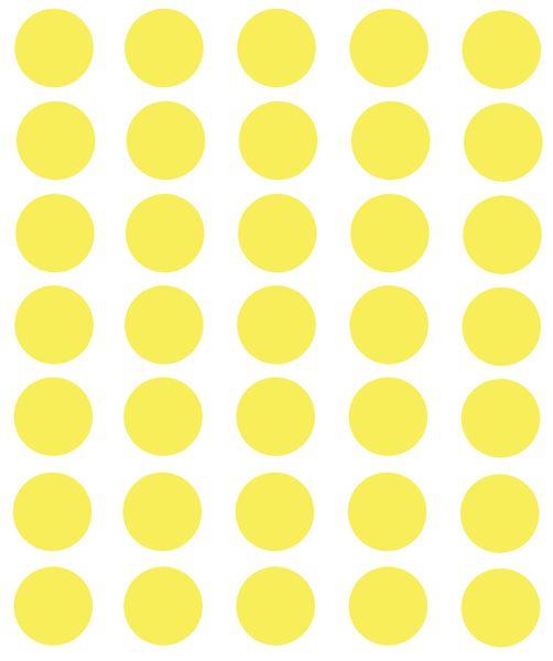 Pastilles en papier fluo adhésif en planche (photo)