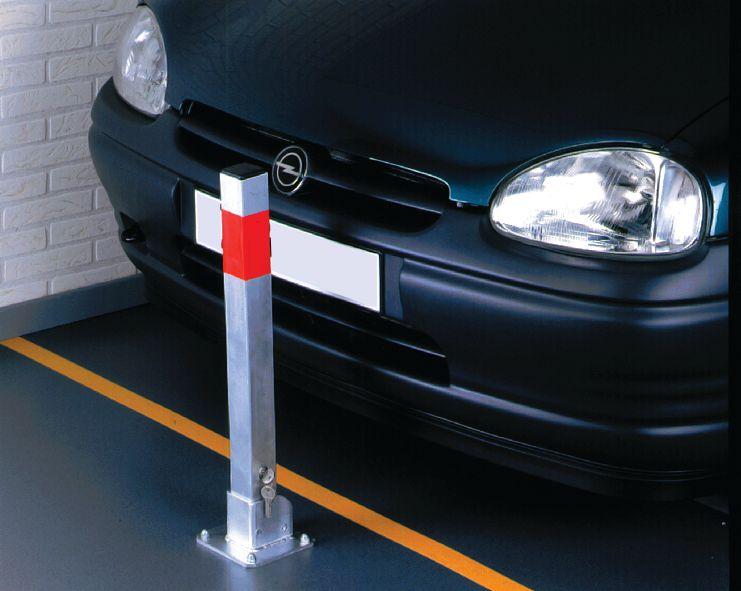 Poteau de parking ECO (photo)