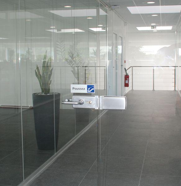 Plaque de Porte Recto-Verso Tirez/Poussez