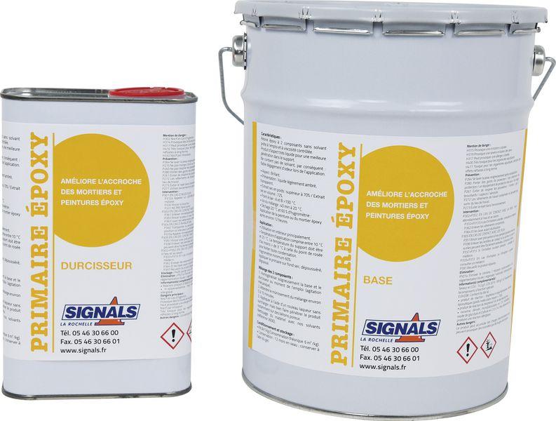 Primaire pour peintures et mortiers Epoxy 5 kg (photo)