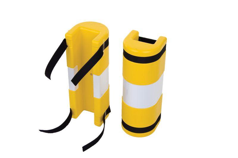 Protection polyéthylène pour colonne
