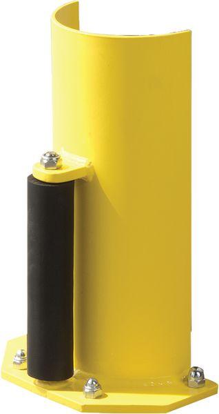Protection de rack avec roulette caoutchouc (photo)