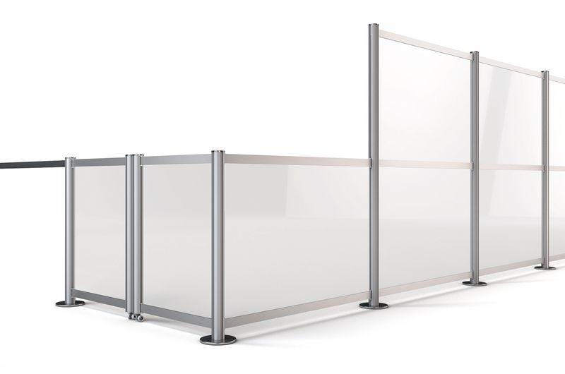 Audacieuse Barrières de sécurité amovibles pour chantiers | Signals TG-97
