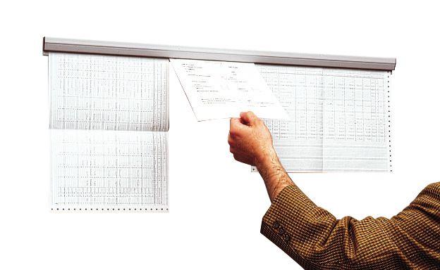 Rails d'affichage muraux par vis ou adhésif (photo)