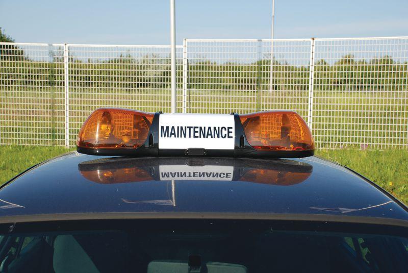 Marquage sur rétroéclairage rampe pour véhicules (photo)