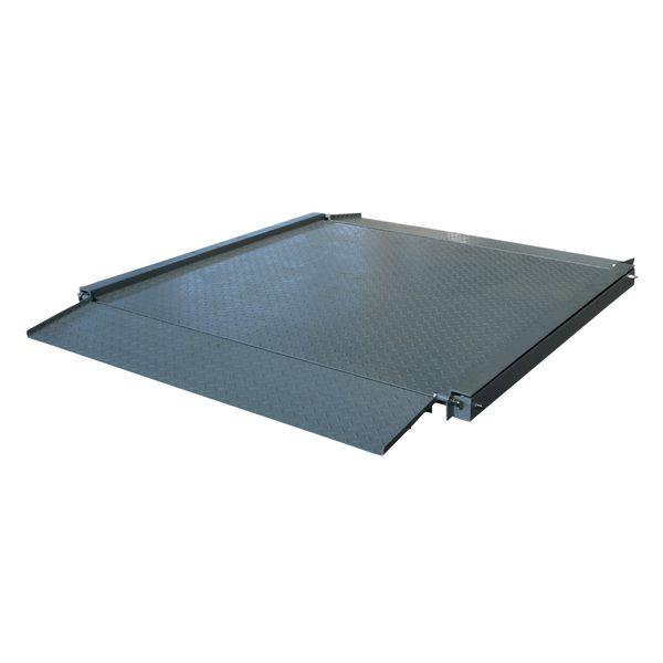 Plateforme de pesage industrielle avec rampes