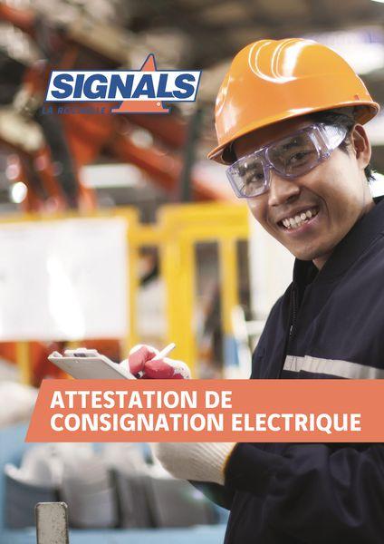 Registre Consignation électrique