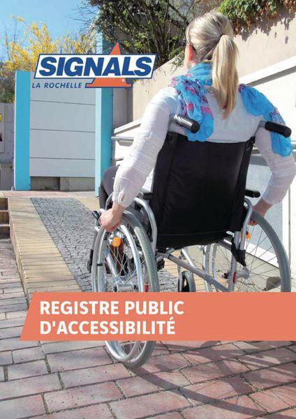 Registre public d'accessibilité format A4
