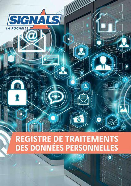Registre de traitement des données personnelles (photo)