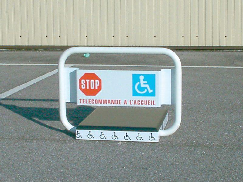 Bloc parking télécommandable PRIVA PARK ® handicapés