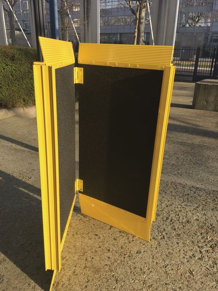 Rampe amovible pliable Modulo pour seuil