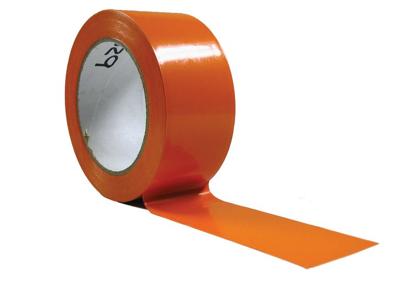Ruban adhésif PVC orange