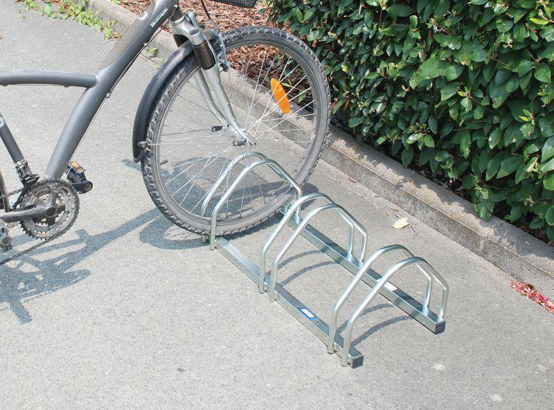Support 3 ou 5 vélos face à face (photo)