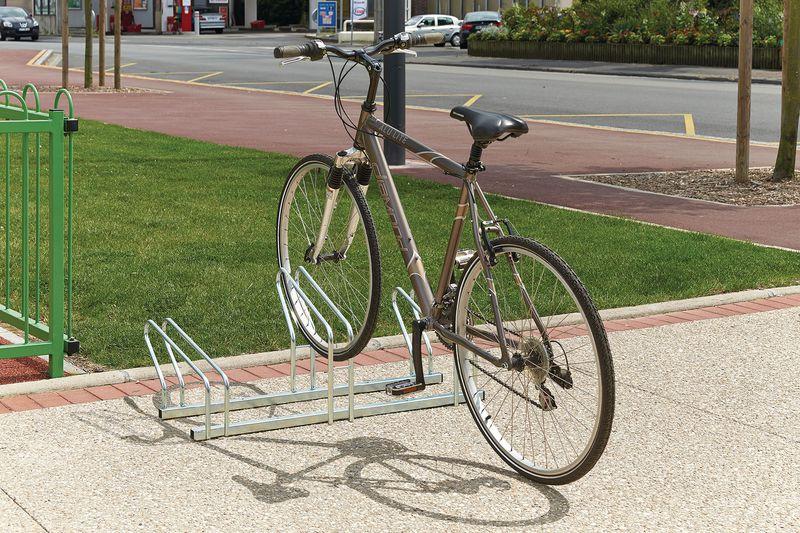 Range-vélos 3 à 20 vélos côte à côte ou face à face (photo)