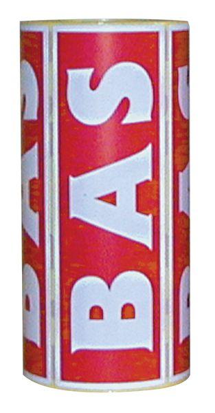 Etiquettes emballage en papier adhésif (photo)