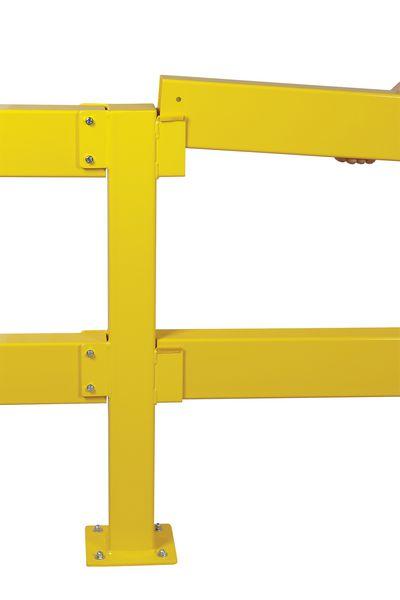 Poteau pour barrière de sécurité à emboîter (photo)