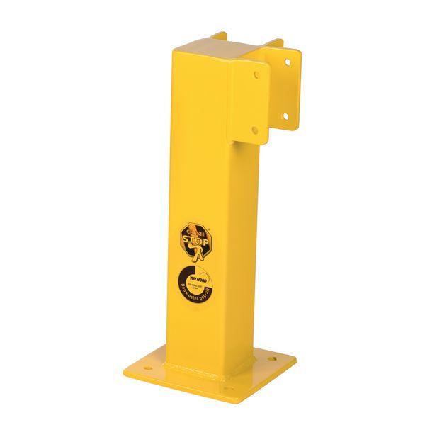 Poteaux pour barrières de sécurité à visser (photo)