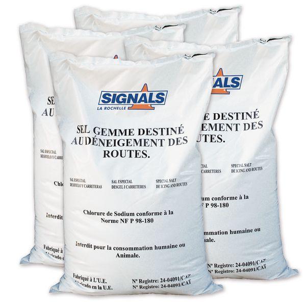 Sac 25 kg de sel de déneigement (photo)