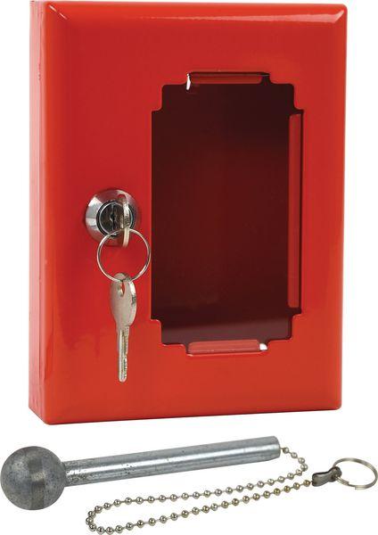 Boîte pour clés de secours en acier