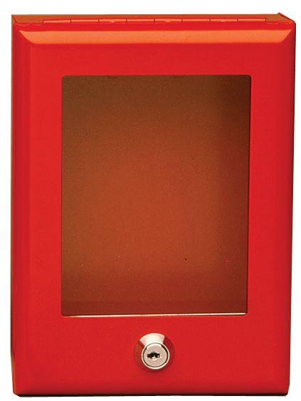 Boîte pour clés de secours en acier (photo)