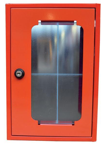 Boîte rectangle sous verre dormant avec fermeture à clé (photo)