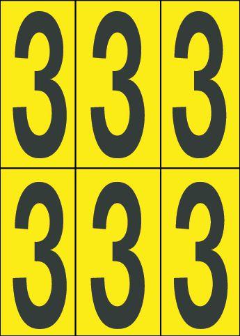 Planches de chiffres et lettres Signe 5