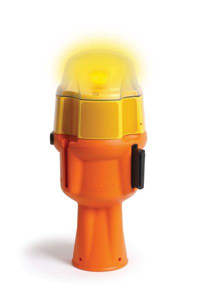 Lampe de s curit pour poteau skipper signals for Lampe solaire pour poteau de terrasse