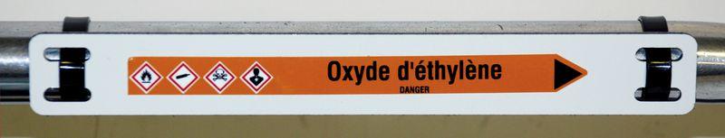 Supports de marqueurs alu/polyéthylène/alu ép 2 mm