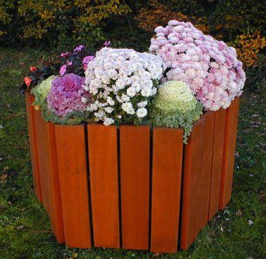 Ensemble 2 jardinières Magnolia + banquette (photo)