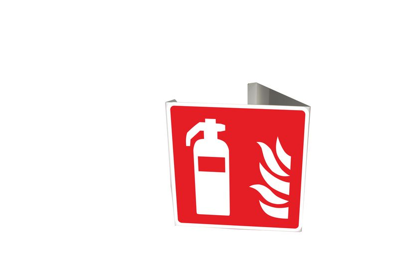 Support Drapeau en Pvc avec 2 symboles sérigraphiés (photo)