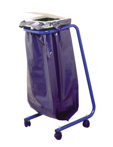 Support de sac poubelle avec couvercle (photo)
