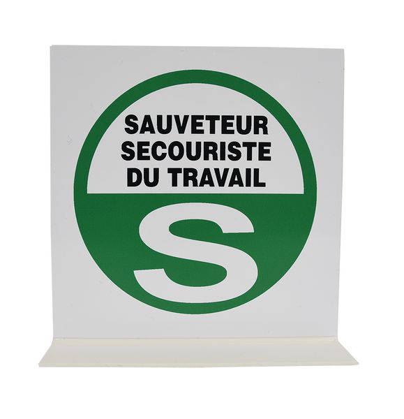 Signalisation en drapeau SST (photo)