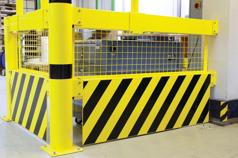Grilles de protection pour barrière (photo)