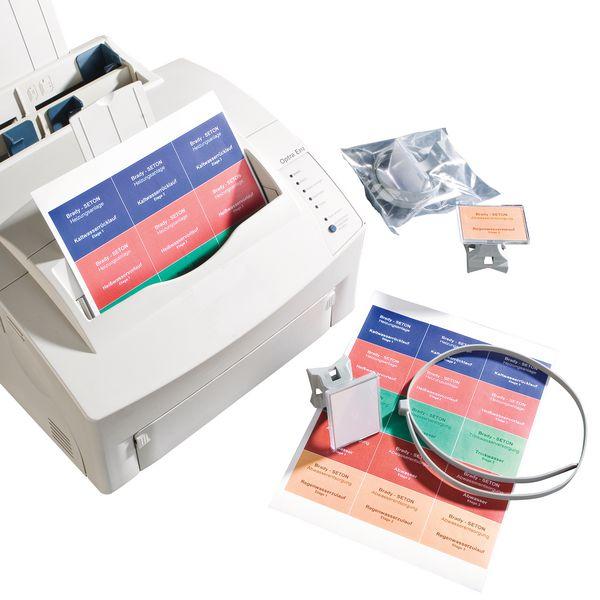 Marqueurs de tuyauterie à imprimer
