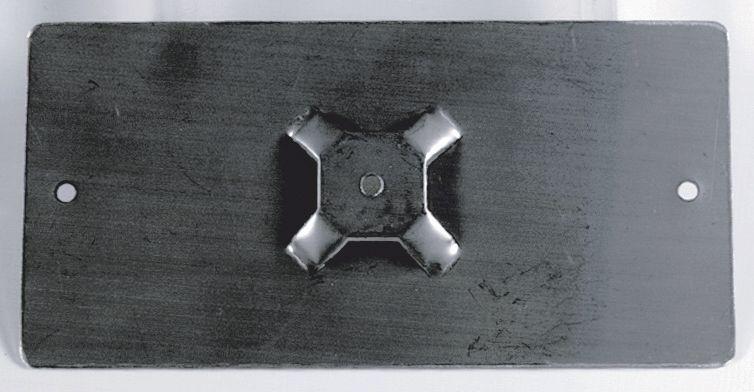Supports en inox pour marqueurs de tuyauterie
