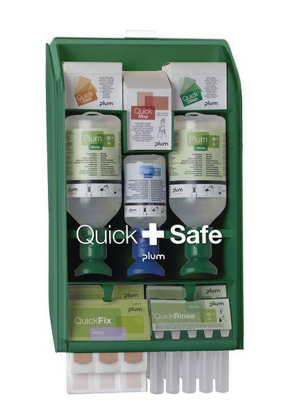 Station murale complète Plum Quick+Safe Saline/neutre